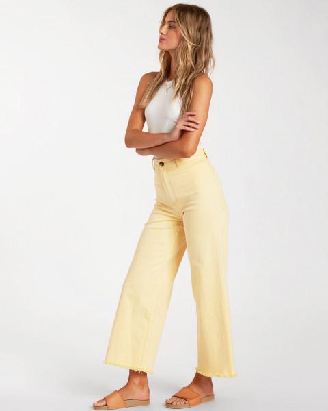 Жен./Одежда/Джинсы и брюки/Широкие брюки Женские брюки c широкими штанинами Free Fall