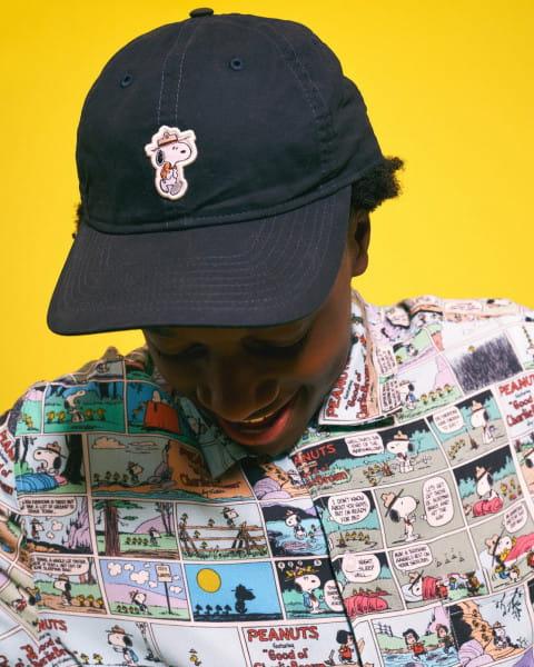 Муж./Одежда/Рубашки/Рубашки с коротким рукавом Мужская рубашка с короткими рукавами Peanuts Marshmallow