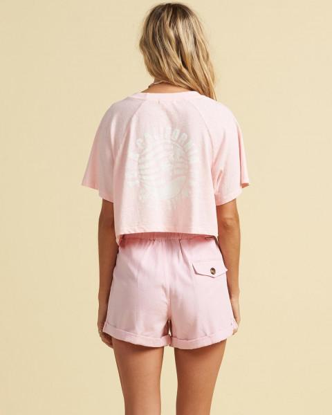 Жен./Одежда/Футболки, поло и лонгсливы/Футболки Женская футболка Salty Blonde Just Beachin