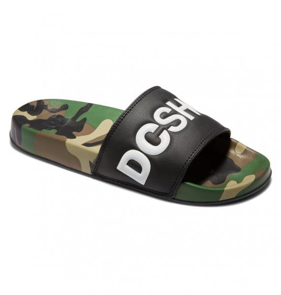 Белые сланцы dc shoes