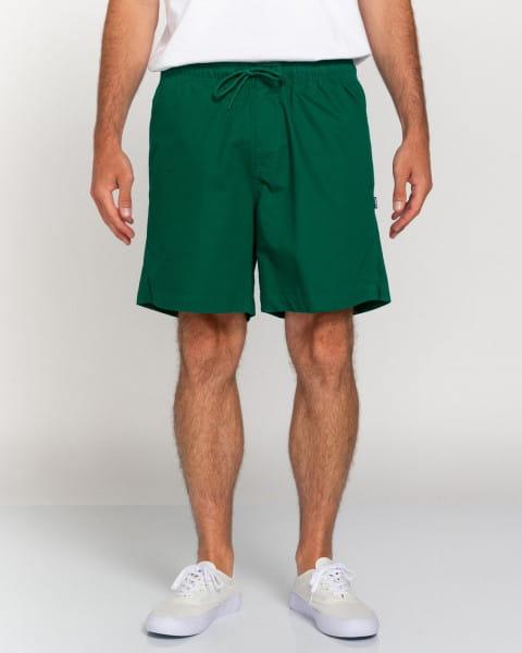 """Зеленый мужские повседневные шорты 17"""""""