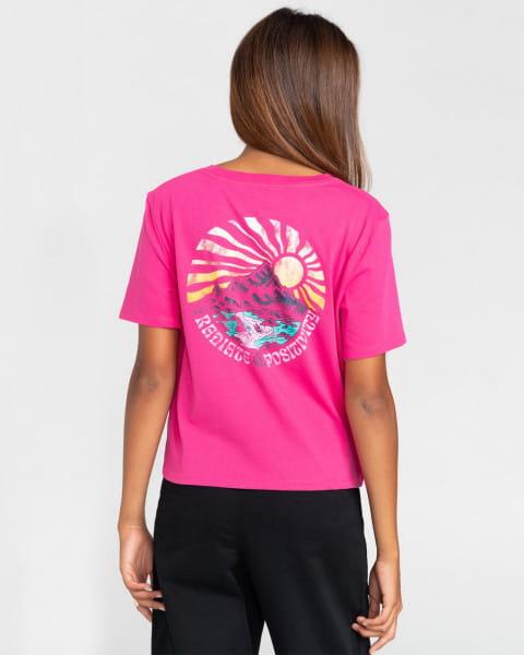 Жен./Одежда/Футболки, поло и лонгсливы/Футболки Женская футболка Positivity Crop