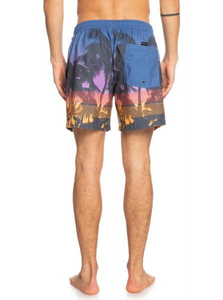 Муж./Бордшорты/Шорты для плавания/Шорты для плавания Мужские плавательные шорты Sunset
