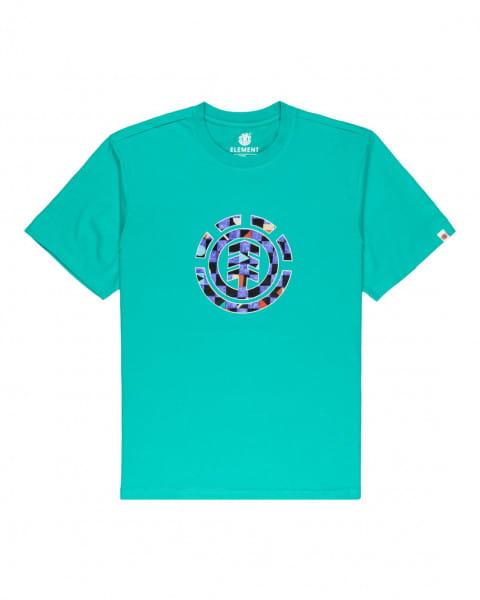 Бирюзовый мужская футболка prism icon