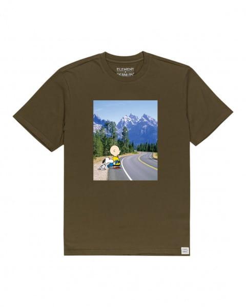 Мужская футболка Peanuts Adventure