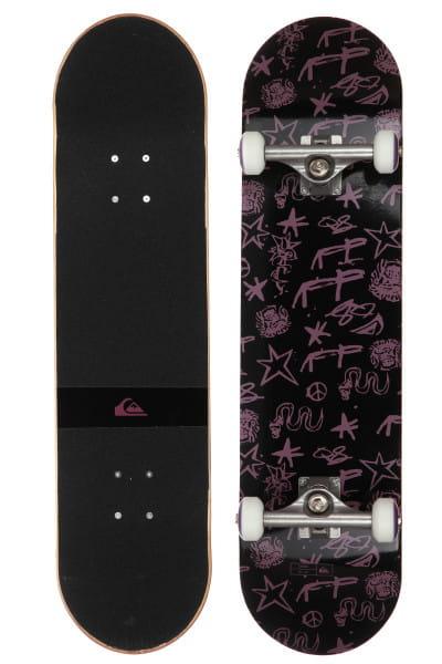 Черный скейтборд snake 8