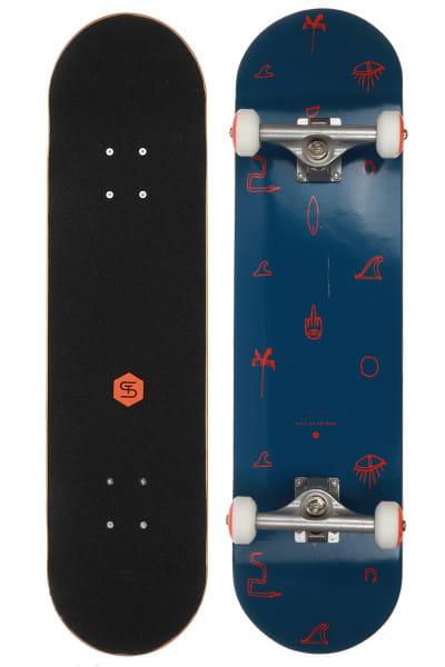 Синий скейтборд essence 7,8