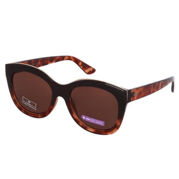 Коричневый солнцезащитные очки mysteria