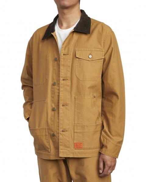 Белый мужская рабочая куртка chainmail