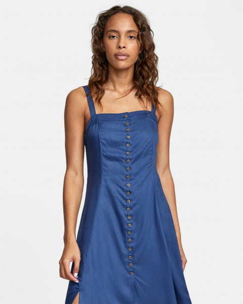 Голубой женское миди-платье jethro