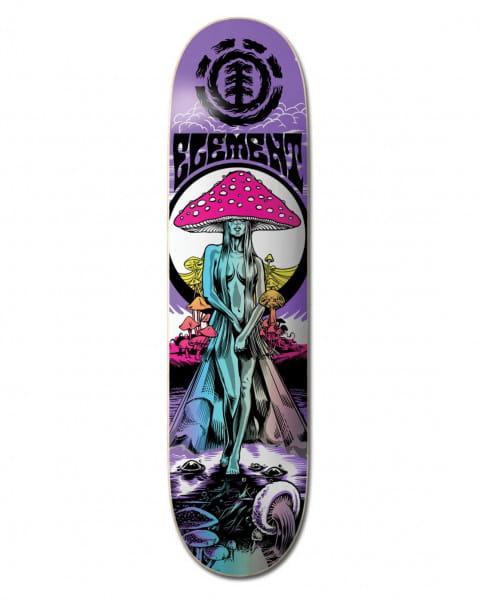"Коричневый дека для скейтборда lamour shroom 8.75"""