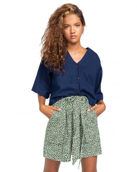 Синий женские шорты miki