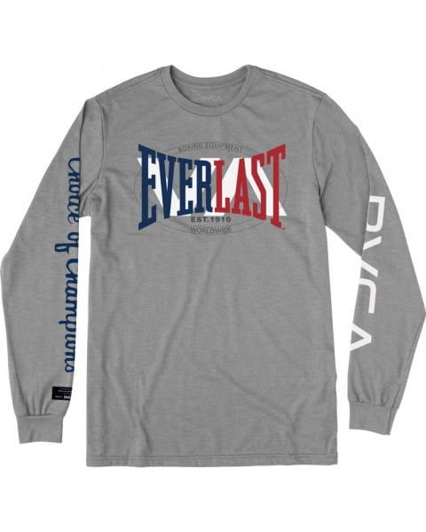 Муж./Одежда/Футболки, поло и лонгсливы/Лонгсливы Мужской лонгслив Everlast x Everlast Stack Patch