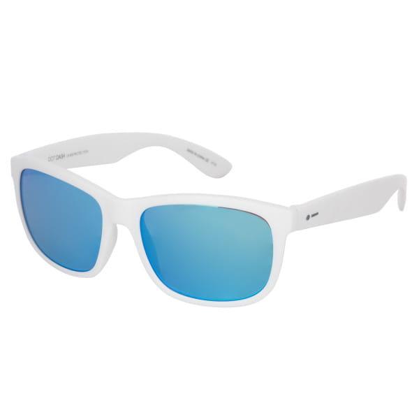 Белый солнцезащитные очки poseur
