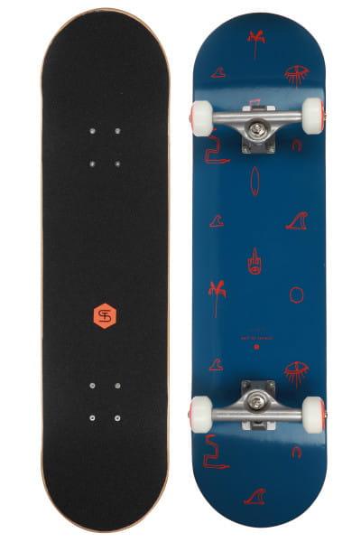 Синий скейтборд essence 8,25