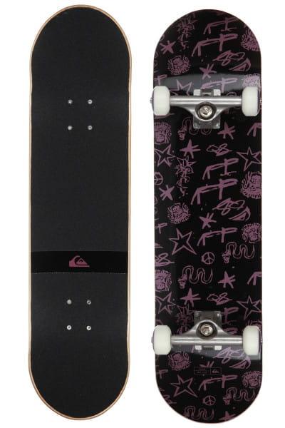 Черный скейтборд snake 8,25