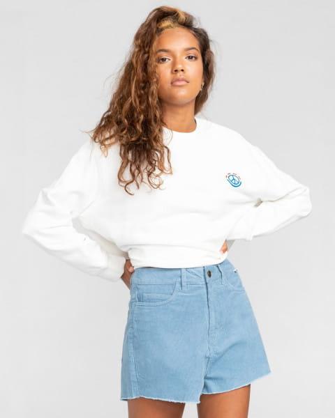 """Синий женские шорты с высокой талией andersen 15"""""""