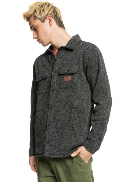 Муж./Одежда/Рубашки/Рубашки с длинным рукавом Флисовая рубашка с длинным рукавом Keller