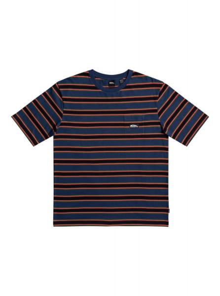 Красный футболка quik stripe