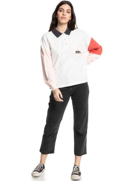 Жен./Одежда/Блузы и рубашки/Рубашки с длинным рукавом Рубашка-поло с длинным рукавом Culture Icon