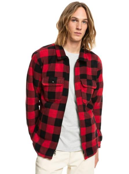 Муж./Одежда/Рубашки/Рубашки с длинным рукавом Флисовая рубашка с длинным рукавом Tolala Allover