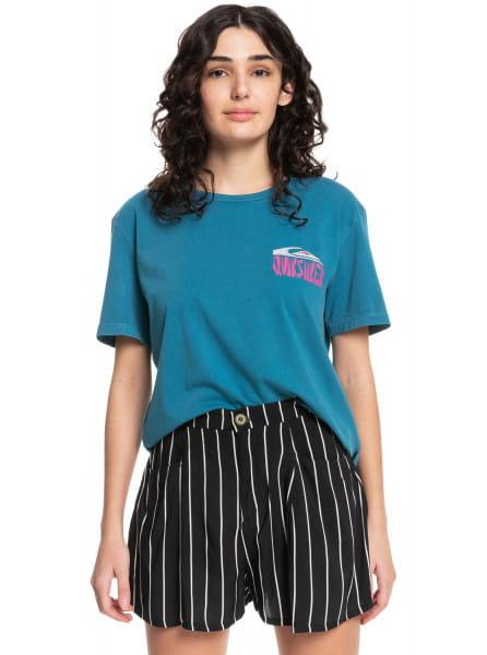 Жен./Одежда/Футболки, поло и лонгсливы/Футболки Женская футболка Quiksilver Womens Mono Cat Standard