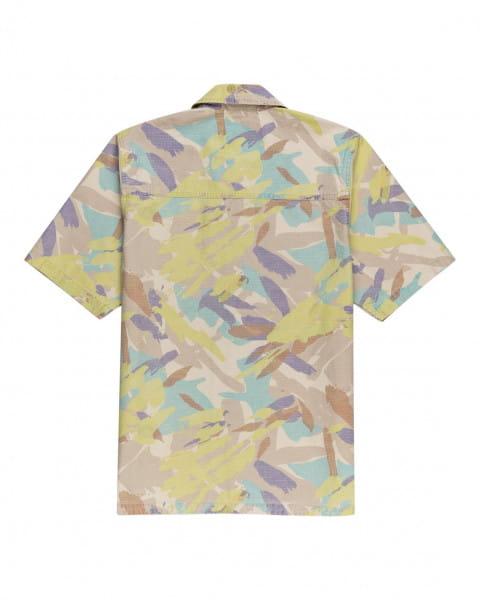 Муж./Одежда/Рубашки/Рубашки с коротким рукавом Мужская рубашка с короткими рукавами Nigel Cabourn Summer