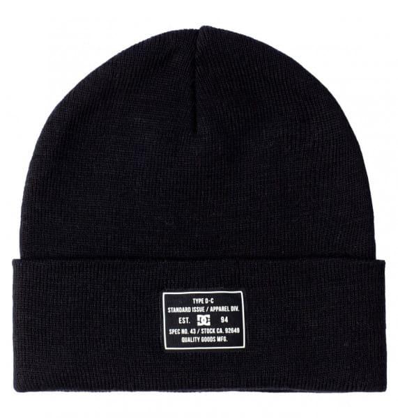 Черные шапка-бини label