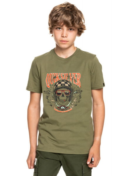 Детская футболка Biker Skull
