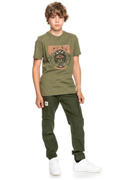 Мал./Мальчикам/Одежда/Футболки и майки Детская футболка Biker Skull