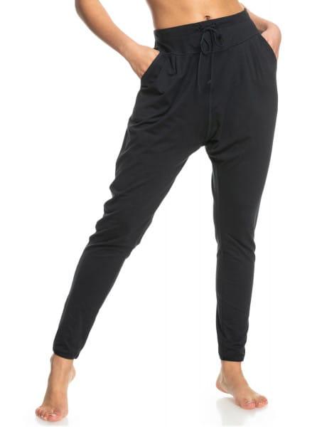 Черный штаны для йоги love aint enough