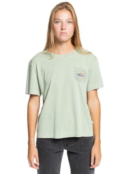 Бирюзовый футболка star slide