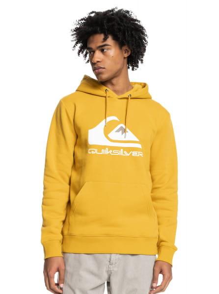 Желтое худи big logo