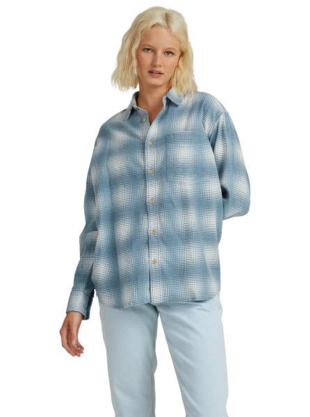 Голубой рубашка с длинным рукавом surfing treat