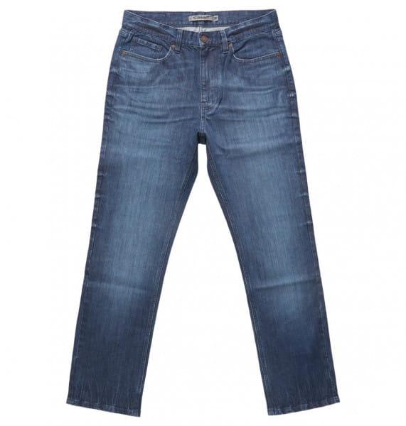 Бежевые джинсы worker straight fit