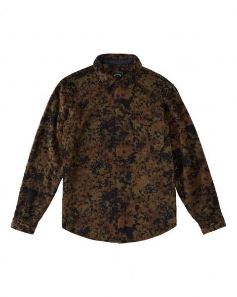 Муж./Одежда/Рубашки/Рубашки с длинным рукавом Мужская флисовая рубашка Furnace Flannel