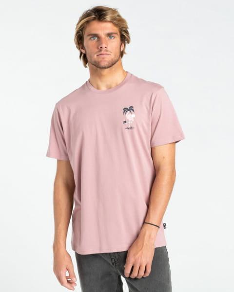 Розовый мужская футболка paradise lost