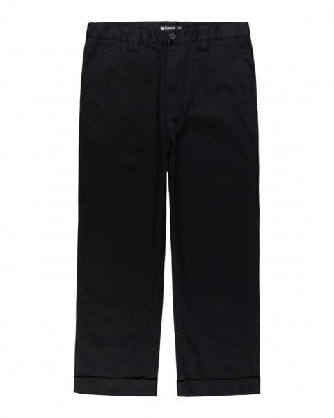 Бирюзовый мужские брюки-чинос big