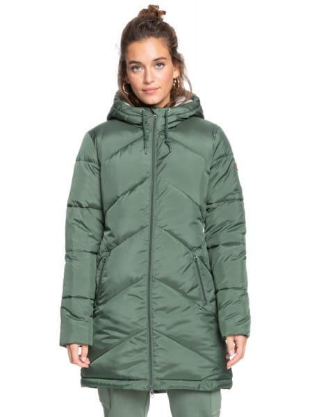Зеленый водостойкая куртка storm warning