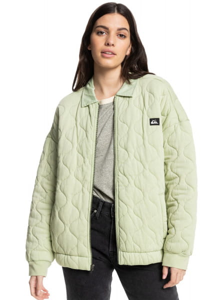 Зеленый куртка california winter