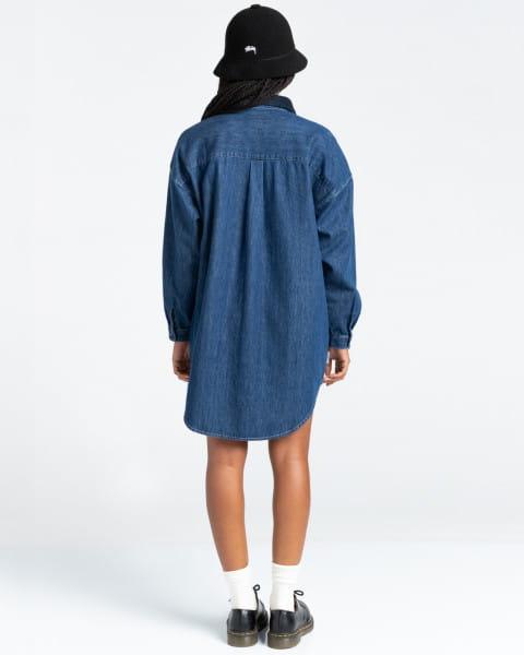 Жен./Одежда/Платья и комбинезоны/Платья Женское платье-рубашка Lane