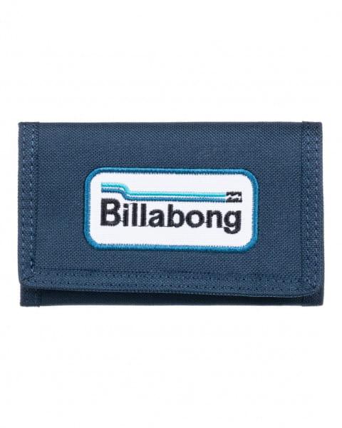 Синий мужской кошелек walled lite
