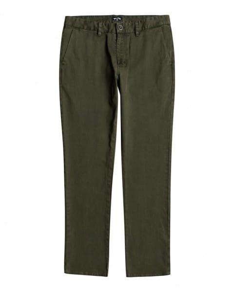 Синий мужские брюки-чинос 73