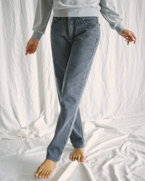 Жен./Одежда/Джинсы и брюки/Прямые джинсы Женские джинсы свободного кроя Camille Rowe Pops