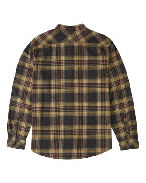 Муж./Одежда/Рубашки/Рубашки с длинным рукавом Мужская фланелевая рубашка Coastline