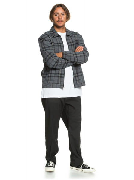 Муж./Одежда/Верхняя одежда/Джинсовые куртки Мужская куртка Check