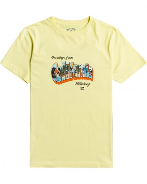 Мал./Мальчикам/Одежда/Футболки и майки Детская футболка Greetings