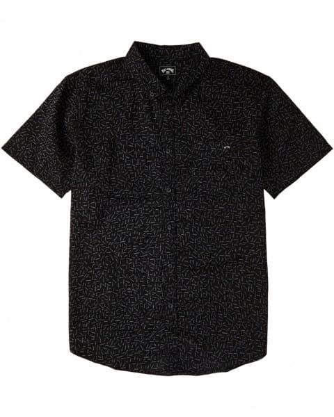 Муж./Одежда/Рубашки/Рубашки с коротким рукавом Мужская рубашка с короткими рукавами Sundays Mini