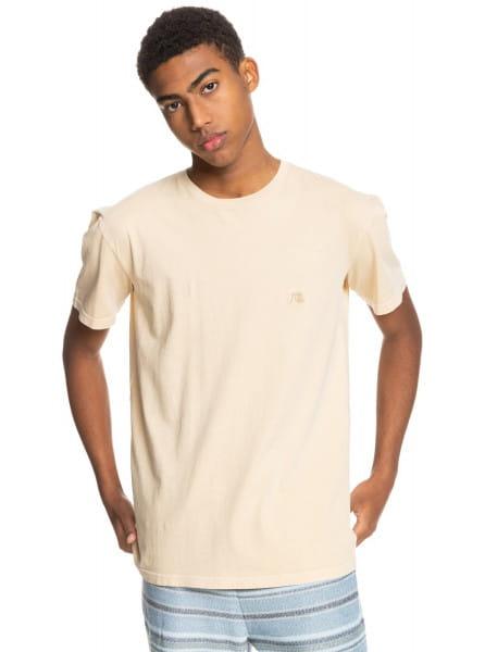 Бирюзовый мужская футболка basic bubble