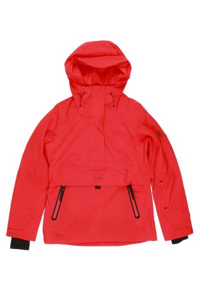 Серый женская сноубордчиеская куртка passage anorak
